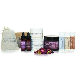Love Your Skin Natural Skincare Gift Set, Cruelty Free Moist