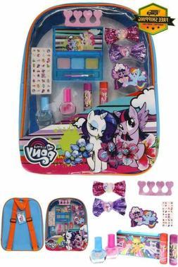 Makeup set Girls Beauty Kit Kids Non-toxic Lip Gloss Compact