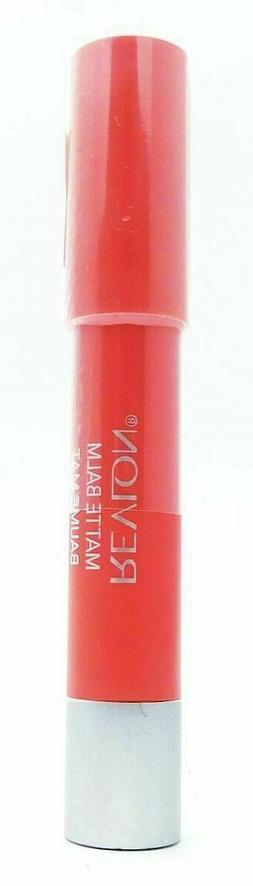 Revlon Matte lip Balm crayon, # 210 Unapologetic, 0.095 oz b