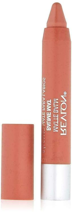 Revlon Matte lip Balm crayon, # 255 Enchanting, 0.095 oz bra
