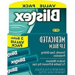 Blistex Medicated Lip Balm SPF 15, 0.15 Ounce