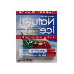 Natural Ice Medicated Lip Protectant SPF 15-Cherry, 2 pack