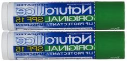 Natural Ice Medicated Lip Protectant Sunscreen SPF 15 Origin