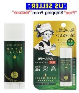 Rohto Mentholatum Deep Moist Menthol Chapstick Lip Balm Made