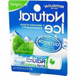 Mentholatum Natural Ice Lip Balm Original SPF 15 1 Each  Pac