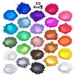 Mica Powder : Soap Making Dye : Bath Bombs Colorant Set : Co