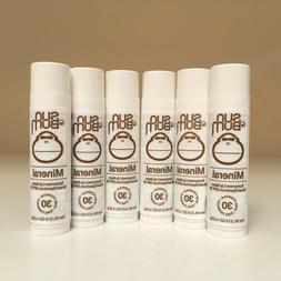 Sun Bum Mineral Sunscreen Lip Balm SPF 30 - Pack Of 1, 2 ,3