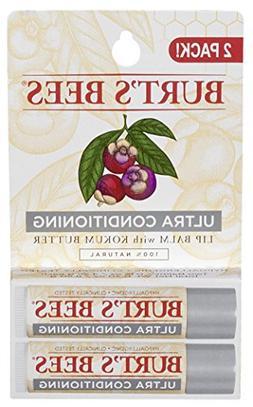 Burt's Bees 100% Natural Moisturizing Lip Balm, Ultra Condit