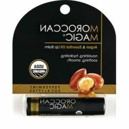 Moroccan Magic Argan & Essential Oil Lip Balm NEW Peppermint