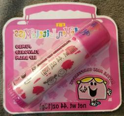 Mr Men little miss MEGA lip balm~bubble gum flavor~RARE VINT