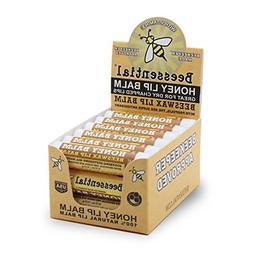 Beessential Natural Bulk Lip Balm 18 Pack For Men, Women, an