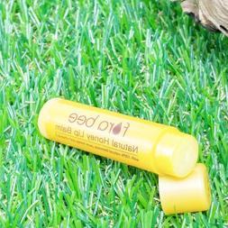 Natural pure honey quality beeswax lip balm soft moisturize