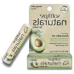 Softlips Naturals Lip Balm w/ Avocado Oil, Honey Mint Flavor