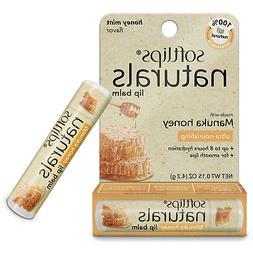 Softlips Naturals Lip Balm w/ Manuka Honey, Honey Mint Flavo
