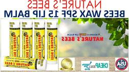 Nature's Bees Cocoa Butter Flavored Lip Balm Natural Moist