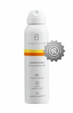 New ! Beautycounter Countersun Mineral Sunscreen Mist SPF 30