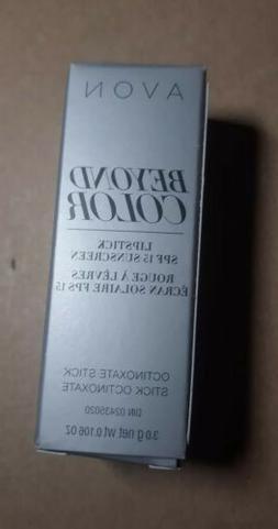 new Avon Beyond Color Lip Conditioner Lipstick SPF 15 Sunscr