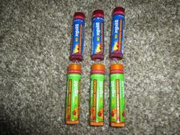 New Bliste 3 Raspberry Lemonade & 3 Orange Mango Blast Lip B