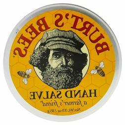 New Burt's Bees 100% Natural Hand Salve 3 Oz Tin