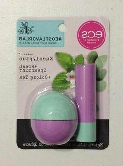 New EOS Eucalyptus + Fresh Spearmint + Oolong Tea Lip Balm S