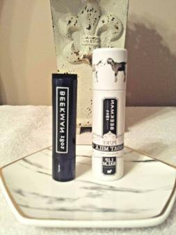 new fresh pure goat milk lip balm