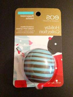"New! EOS Holiday Collection ""Peppermint Mocha"" Lip Balm Sphe"