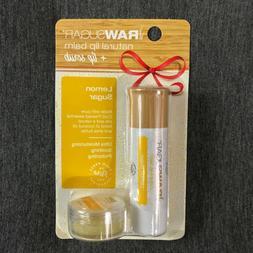 New! Raw Sugar Holiday Lip Balm + Bonus Lip Scrub Pack - Lem