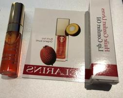 NEW Clarins Instant Light Lip Comfort Oil 05 Tangerine trave