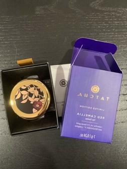 New Tatcha Limited Edition Red Camellia Lip Balm 23k Gold 7g