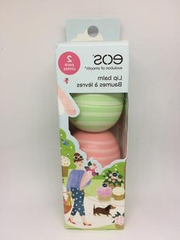 New EOS Lip Balm Limited Edition Visibly Soft Cucumber Melon