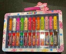 New! Lip Smacker Lip Gloss Vault - 24ct/3.38oz Lip Balm Set