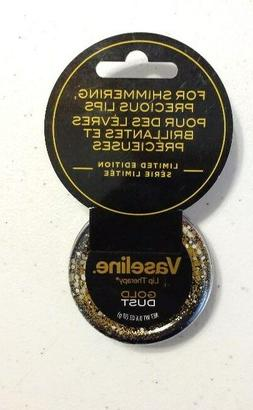New Vaseline Lip Therapy Limited Edition Gold Dust Tin Lip B