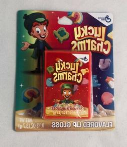NEW Lucky Charms Cereal Box Flavored Lip Balm Gloss .13 oz