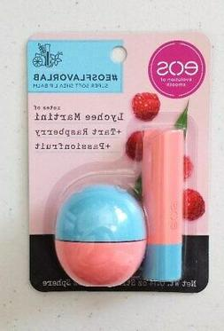 New EOS Lychee Martini + Tart Raspberry + Passionfruit Lip B
