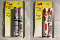 NEW CARMEX MOISTURE PLUS LIP BALM ~ TWIN PACK ~ YOU CHOOSE D