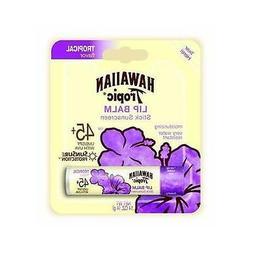 NEW Hawaiian Tropic Moisturizing Lip Balm Sunscreen, SPF 45