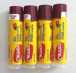 New X4 Carmex Classic Lip Balm Medicated Click Stick Cherry