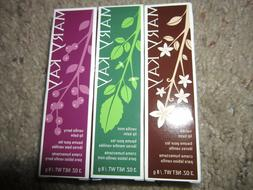 NIB New Mary Kay Satin Lips Shea Butter Balm .3 oz Vanilla/