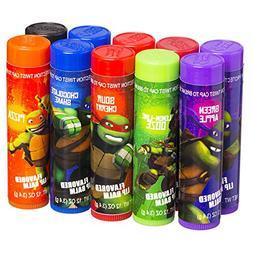Nickelodeon Teenage Mutant Ninja Turtles 10 Flavored Lip Bal
