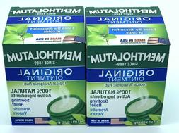 Mentholatum Ointment, 100% Natural Active Ingredients Soothi