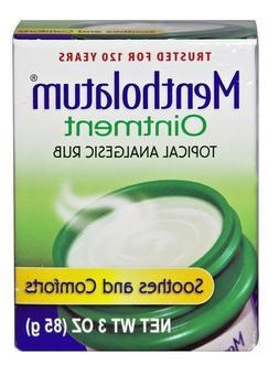Mentholatum Ointment Topical Analgesic Rub 1 oz OR 3 oz
