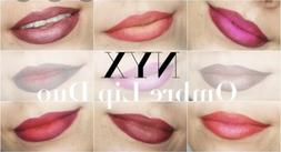 NYX Ombre Lip Duo, Liner & Lipstick, Assorted Colors