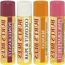 One Four Pack Burt's Bees Super-fruit Moisturizing Lip Balm