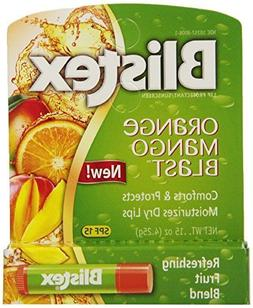 Blistex Orange Mango Blast Lip Balm, 0.15 Ounce