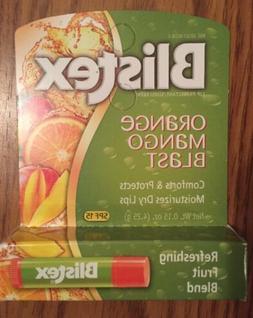 Blistex Orange Mango Blast Lip Balm, SPF 15, 0.15oz  New