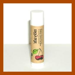 organic cherry lip balm full size new