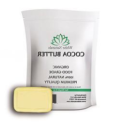 Cocoa Butter 8oz,Unrefined, Raw, 100% Pure, Natural - For DI