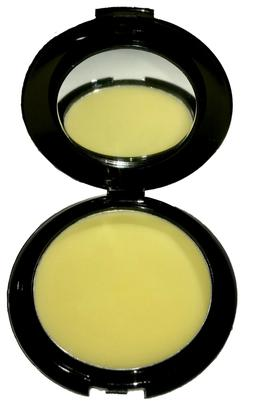 Organic Hemp Infused Cocoa Butter Lip Balm Compact with Mirr