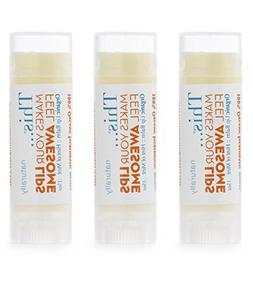 Organic Lip Balm with Jojoba Oil-3-Pack