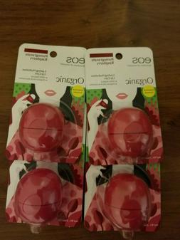 eos Organic Lip Balm Sphere - Pomegranate Raspberry | Certif